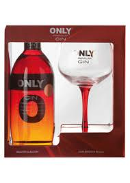 Gin Only 43% 0,7 l + sklo