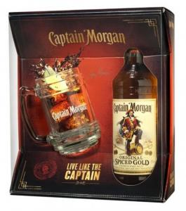 Captain Morgan Spiced 0,7l 35% + korbel