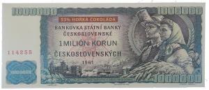Čokoládová bankovka 60 g hořká