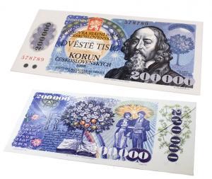 Čokoládová bankovka 60 g různé druhy