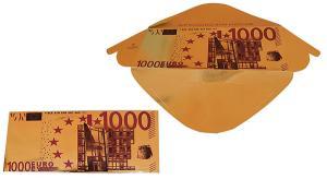 Čokoládová bankovka zlatá 60 g