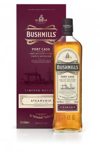 Bushmills Steamship PORT 0,7l 40%