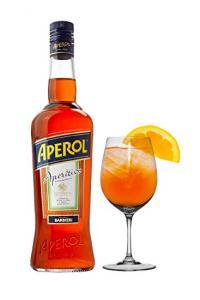 Aperol 1l 11% 6KS + 6KS skleniček
