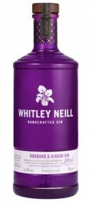 Gin Whitley Neill Rhubarb&Ginger 0,7l 43% L