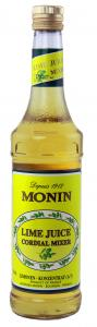 Monin Lime Juice/Limetová šťáva 0,7l