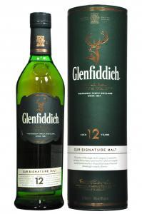 Glenfiddich Single Malt Whisky 12YO 0,7l 40%