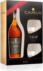 Camus VSOP Elegance 0,7l 40% + 2 skla GB