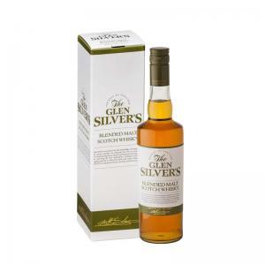 Glen Silvers Blended Malt (zelená) 0,7l 40% GB