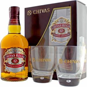 Chivas Regal 12YO 0,7l 40% GB +2skla
