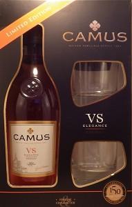 Camus V.S. Elegance 0.7l 40% kazeta + 2skla