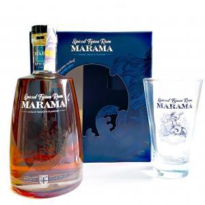 Rum Marama Spiced 0,7l 40% + sklo GB