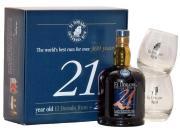 El Dorado Rum 21yo 0,7 l + 2 skla