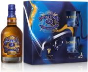 Chivas Regal 18YO 0,7l 40% + 2 skla GB