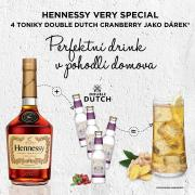 Hennessy VS 0,7l 40% GB + 4x Tonic Double Dutch Cranberry