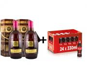 PÁRTY SET 2x Don Rhon G.R. 0,7l 37,5% + 24x Coca Cola 0, 33l