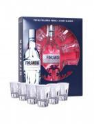 Vodka Finlandia 0,7l 40% + 6 skleniček